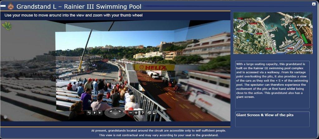 Monaco Formula One Grand Prix Race Tickets, Monte Carlo Street Circuit ...